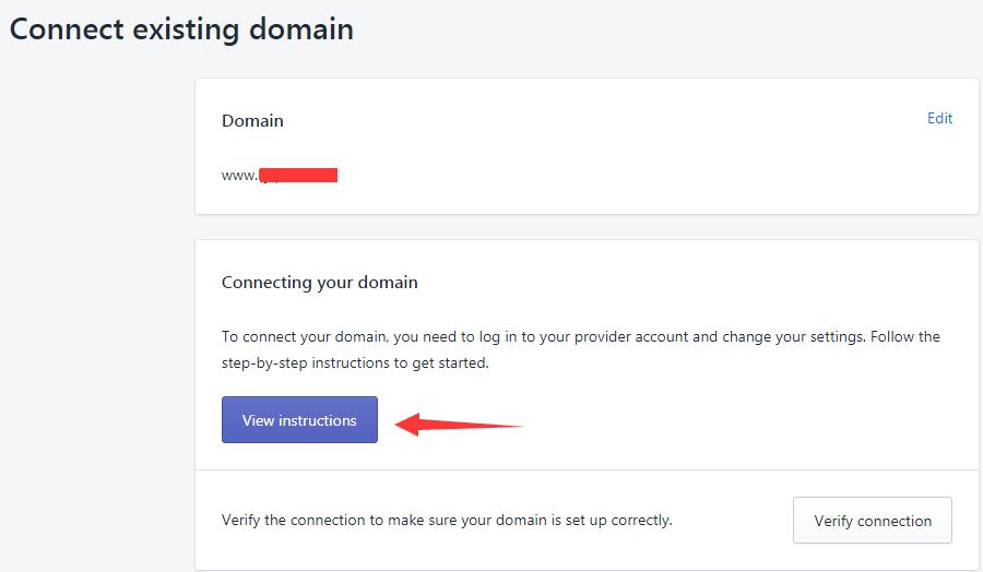 Shopify 域名如何设置? |插图(5)