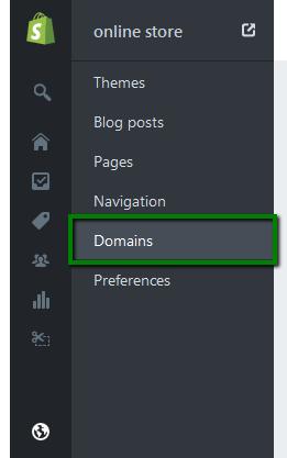 Shopify 域名如何设置? |插图(2)
