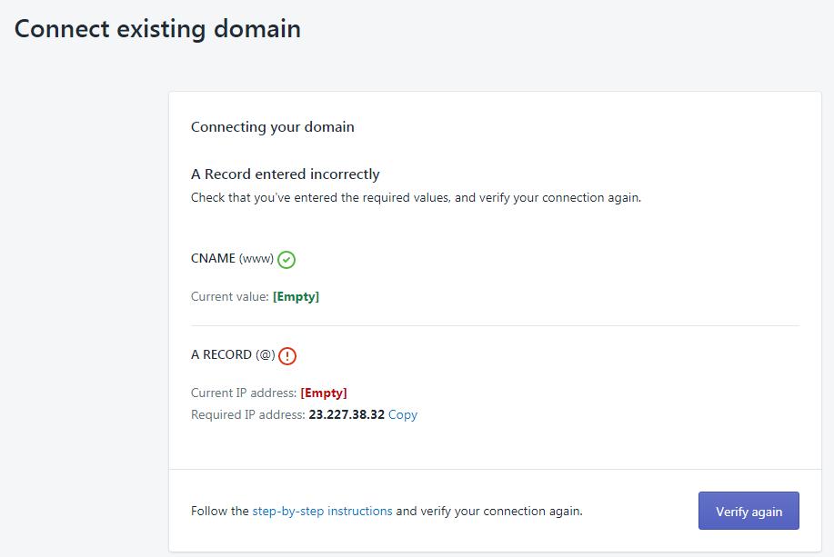 Shopify 域名如何设置? |插图(12)