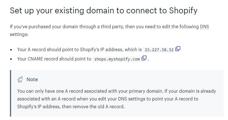 Shopify 域名如何设置? |插图(6)