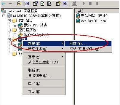 若何搭建云服务器之IIS的设置插图(3)